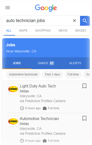 Predictive Profiles Careers - Automotive and Service jobs